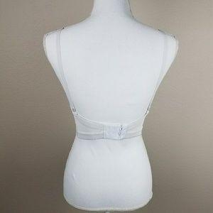 Intimates & Sleepwear - White Lacy Beauty Bra 34B Lingerie Wedding